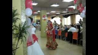 Индийский танец на свадьбе. Лика Ниятова