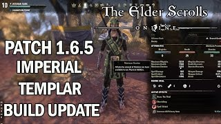 Imperial Templar Build Update v1.6.5 - The Elder Scrolls Online Gameplay Review