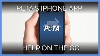 Help Animals With PETA's iPhone App