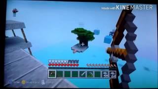 Minecraft - Jogando skywars no Xbox 360!!