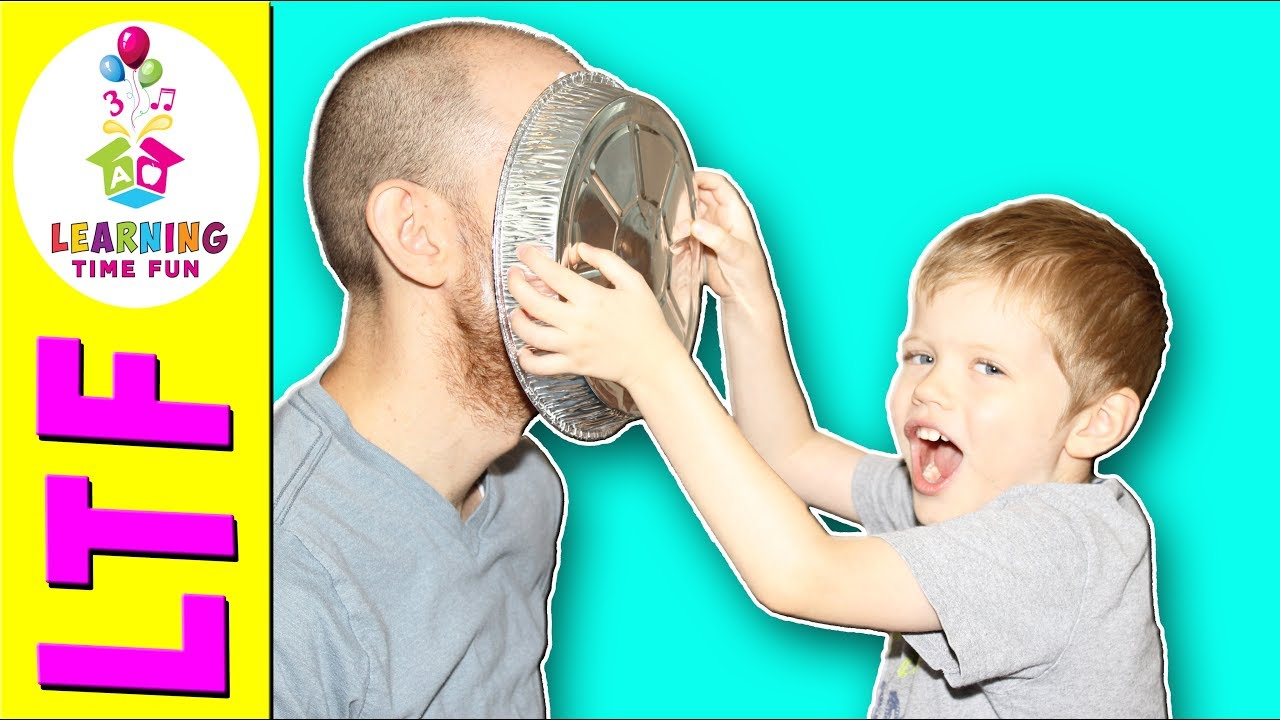 Pies In The Face Counting Game Count To 10 Learning
