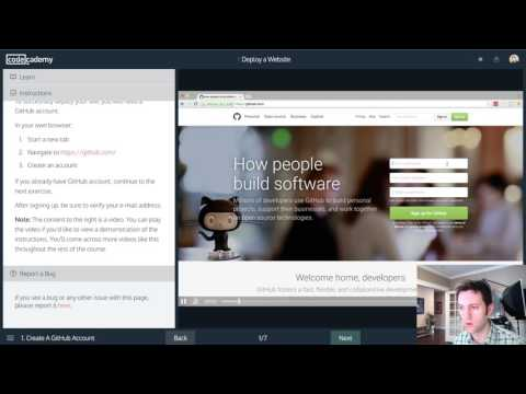 Let's Code Live :: Codeacemy Deploy A Website