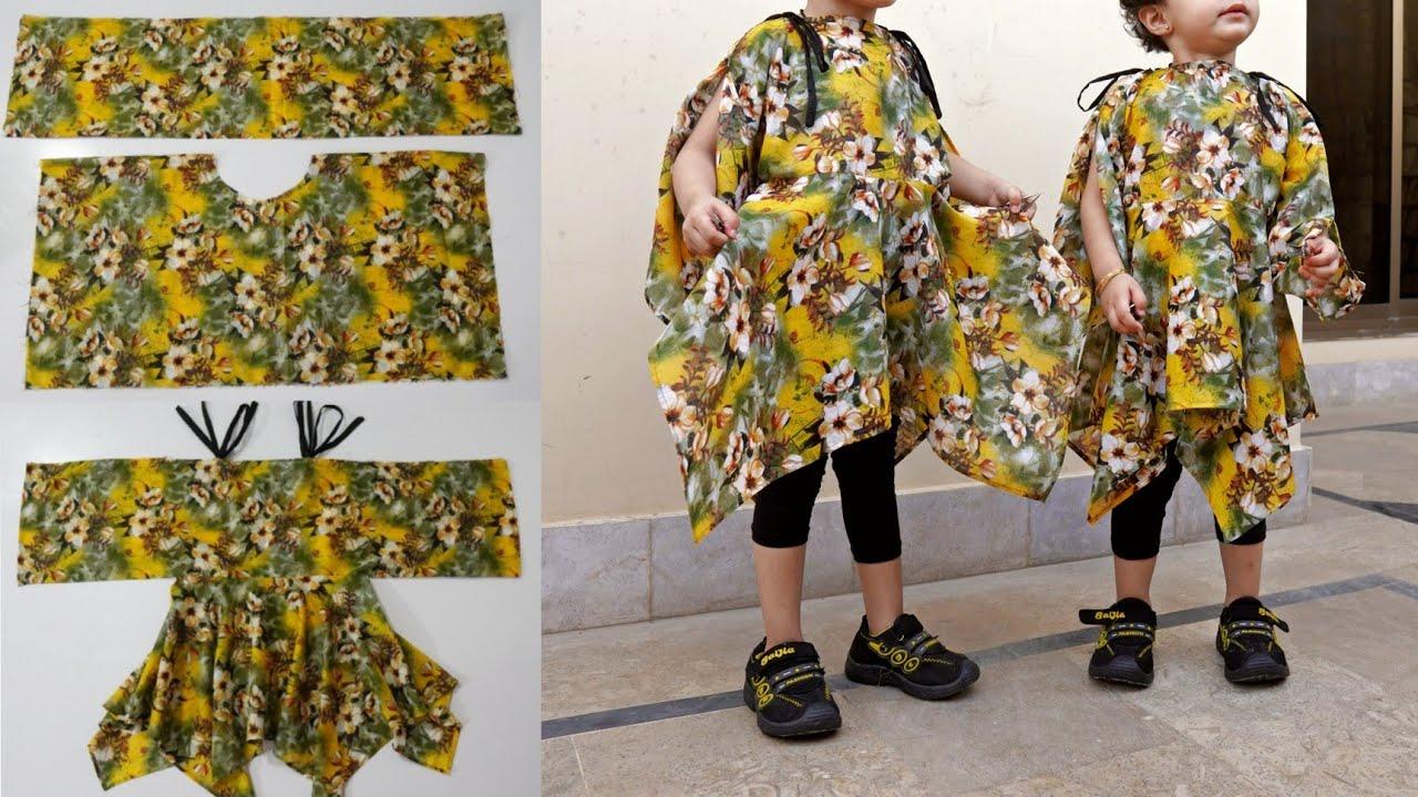 New amazing idea kurti design so very easy cutting and stitching.