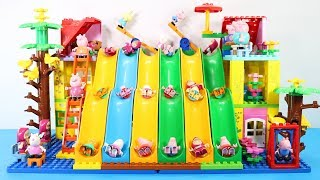 Peppa Pig Building Lego House Toys For Kids - Lego House Creations Toys