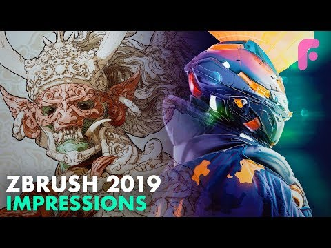 ZBrush 2019 Released! New Features & Our Reaction - YouTube