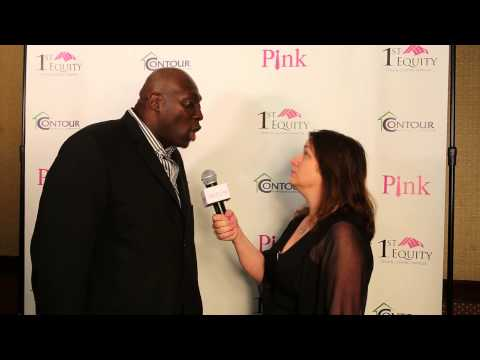 "Ottis ""OJ"" Anderson, Superbowl Champion New York Giants at The PinkTie.Org Event 2014"
