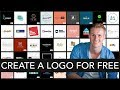 How To Create A Logo For Free 2018 | Online