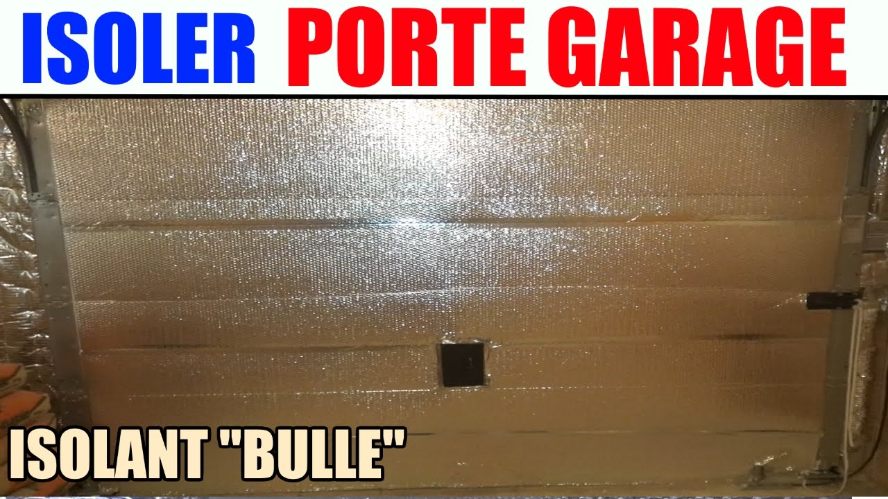 Isoler une porte de garage kit isolation porte de garage for Comment nettoyer une porte de garage en aluminium