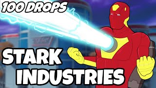 I Dropped Stark Industries 100 Times And This Is What Happened - 100 Drops