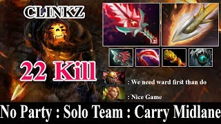 Topson - Clinkz MID Lane | EZ 22 KILL | Dota 2 Pro MMR Gameplay | #Dota2sroksre |#Dota 2 Pro