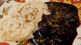 Arroz Con Leche y Mazamorra Morada | Cocina Típica Peruana