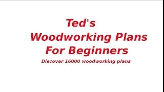Woodworking Plans For Beginners | Beginners Woodworking Projects
