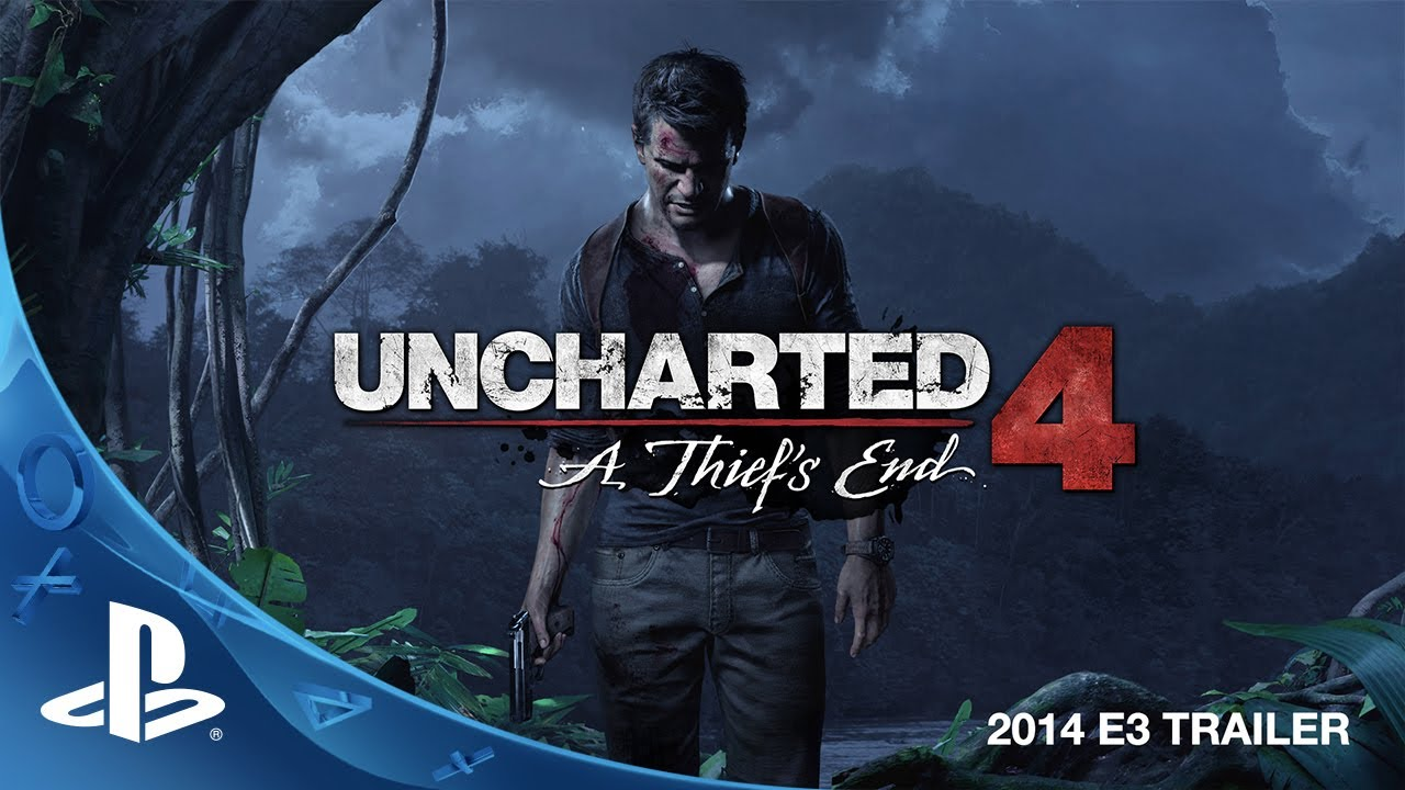 Uncharted 4: A Thiefs End E3 2014 Trailer (PS4)