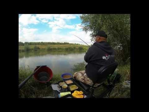 Crap pescuit la feeder pe raul Arges