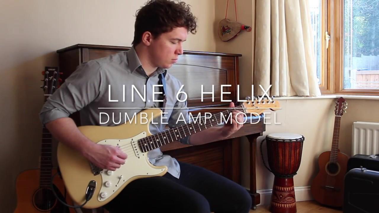 line 6 helix dumble amp model short demo youtube. Black Bedroom Furniture Sets. Home Design Ideas