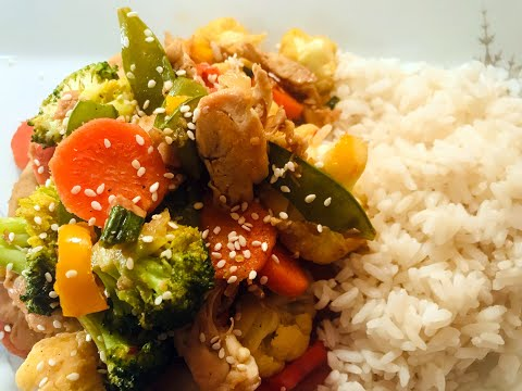 HOW TO MAKE CHICKEN STIR-FRY - BITES IN TIME