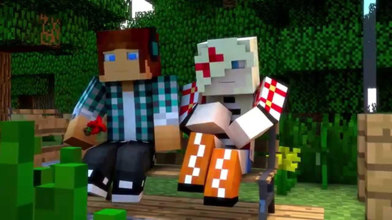 Minecraft Animation Wallpaper Uma Historia De Amor Minecraft Anima 231 227 O The Sims