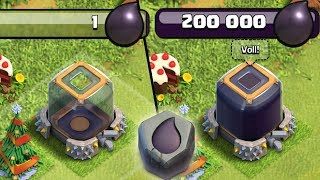 200.000 DUNKLES! SUPER RUNE! ☆ Clash of Clans ☆ CoC