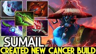 SUMAIL [Phantom Lancer] Created New Cancer Build WTF Plays 7.22 Dota 2