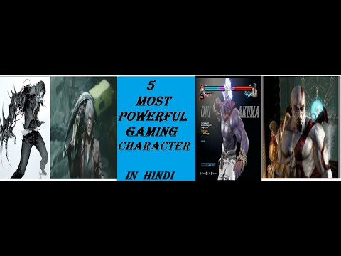Top 5 Most Powerful Gaming Character_explained in HINDI||TYRANT GAMING||