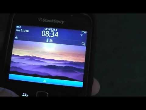 BlackBerry 9300 3G Wifi Test