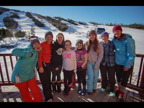 Park Days: All Girl Freestyle Snowboard Camp | White Hills Ski Resort
