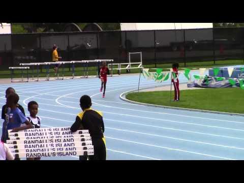 Claude Shepherd- 9/10 boys 800m - Icahn Stadium NY -Youth Challenge Series Meet 3