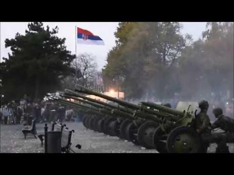 Zis 3 firing to comemorate Ending of WW1. 11. November 2015.