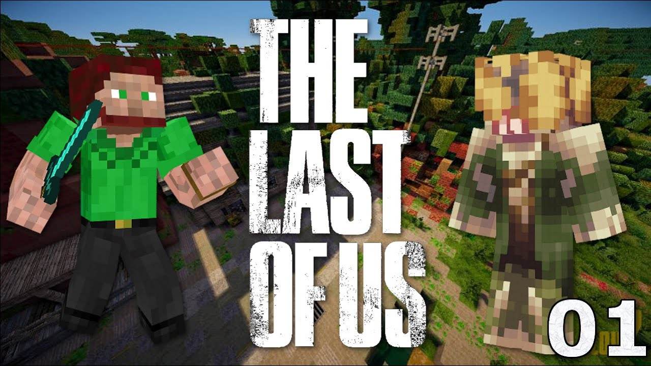 Coops Adventures The Last Of Us Ep Minecraft Adventure Map - The last of us minecraft map