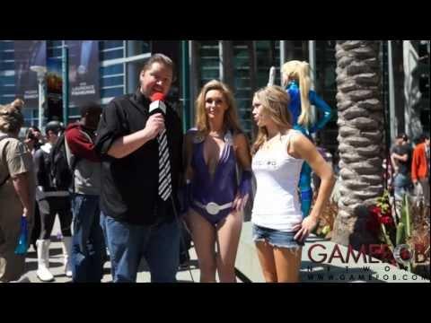 Gamefob at Wondercon 2013 - Tanya Tate