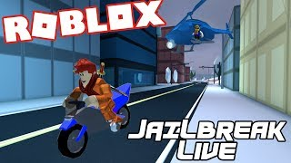 ROBLOX LIVESTREAM| Jailbreak|| Come join me!!