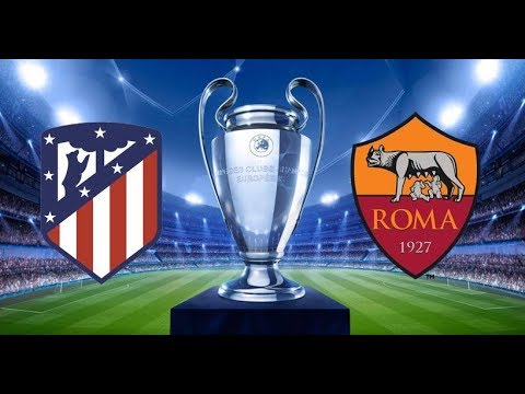 Atletico Madrid - ROMA   Diretta LIVE (Champions League)