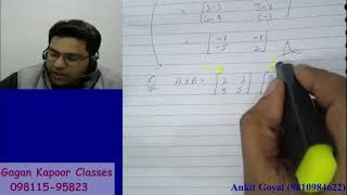 B.com(p/h) Basic of Matrices and Determinant by ANKIT GOYAL