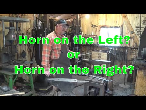 Orienting your anvil - horn to the left? or horn to the right?