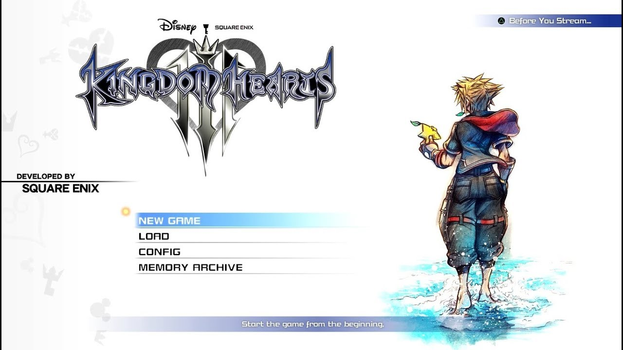 Image result for kingdom hearts 3 title screen