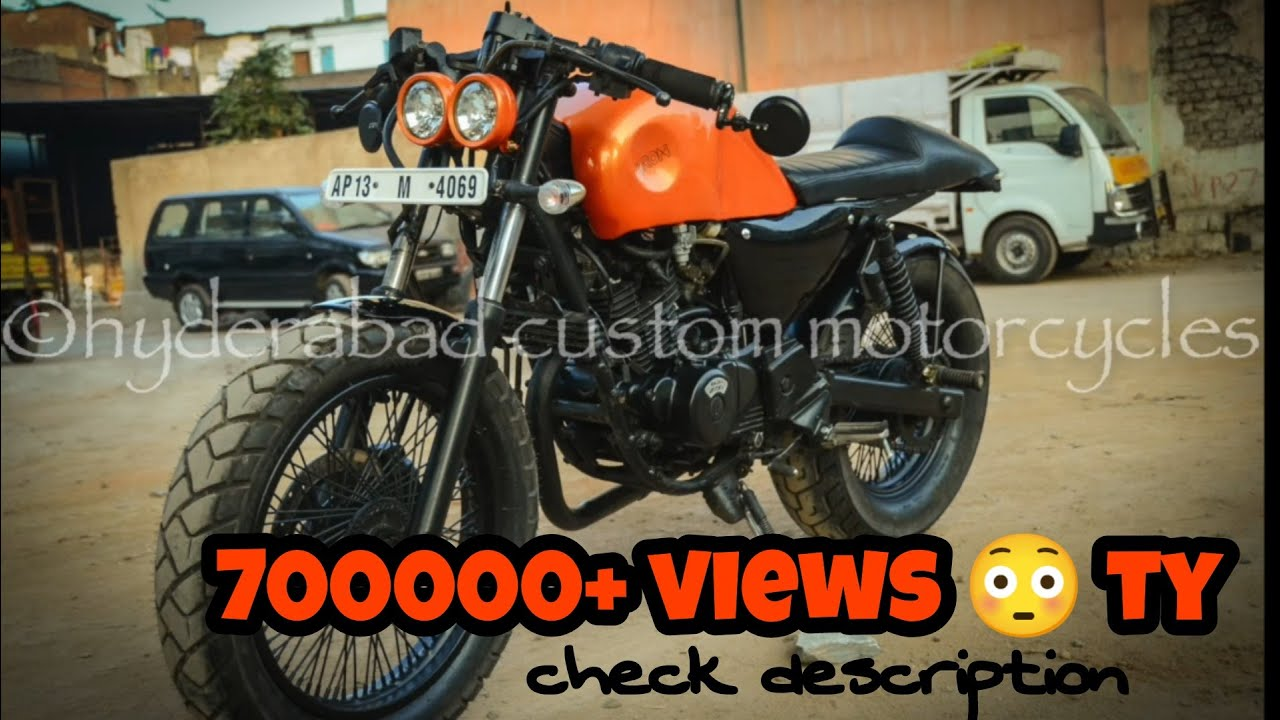 pulsar 200 into cafe racer (2) - youtube