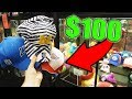 I WON $100 WORTH OF HATS FROM THE CLAW MACHINE!    Arcade Games