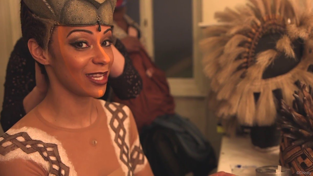 behind the scenes with the lion king cast  tonight at the