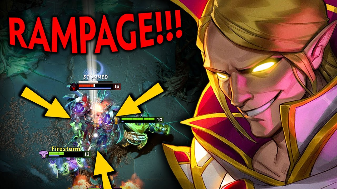 OMG 19MINS RAMPAGE!! THIS PLAYER DOMINATES EVERY GAME WITH INVOKER | Dota 2 Invoker