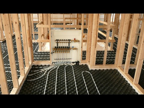 Uponor Residential Radiant Heating Installation Applications