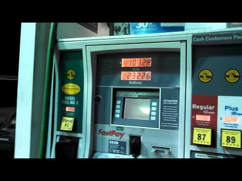 2012 Ford F250 Super Duty 6.7 Liter 37.5 Gallon Fuel Tank Diesel #2 ULSD Fill #5
