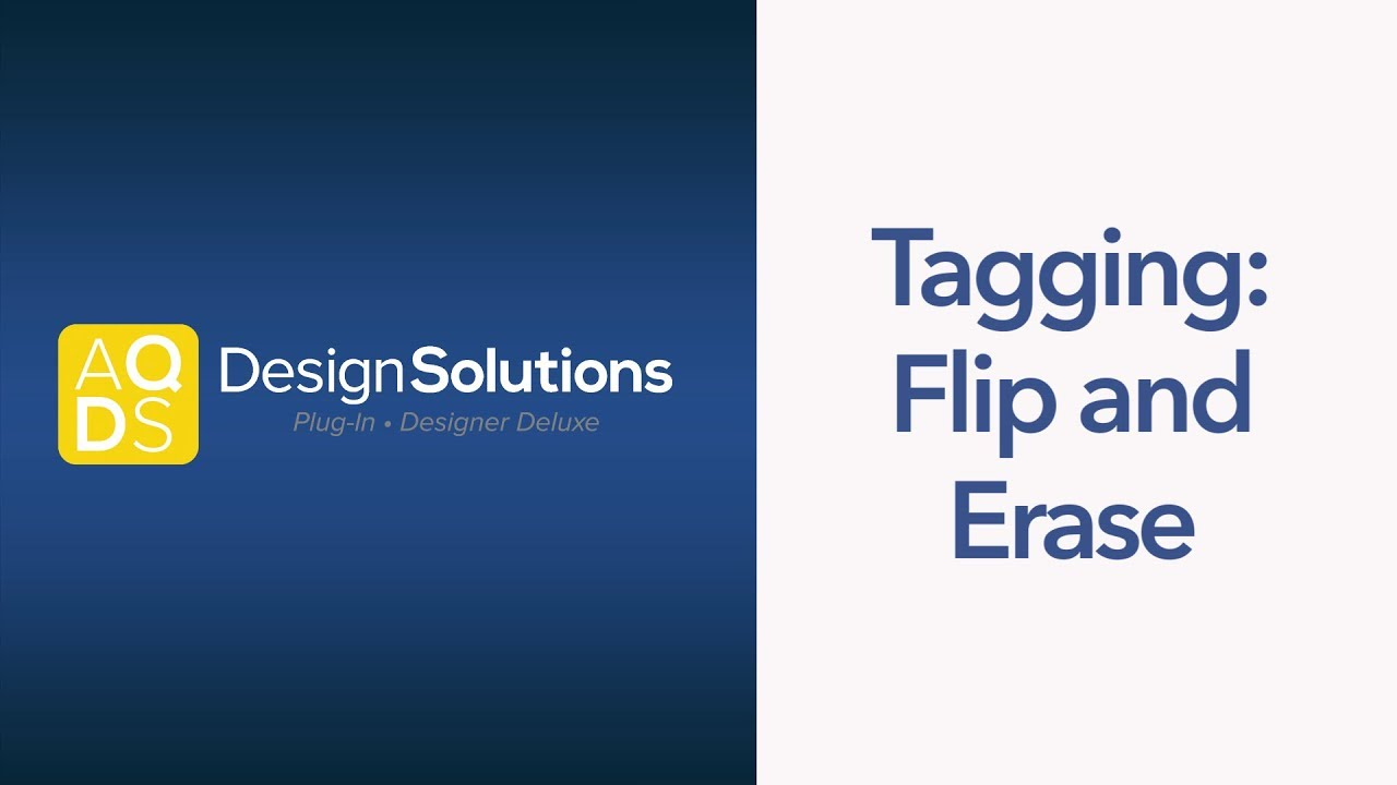 AQ Design Solutions – Flip and Erase Tags