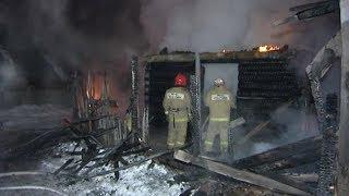 Двухместный пожар с Мерседесом и гадами.