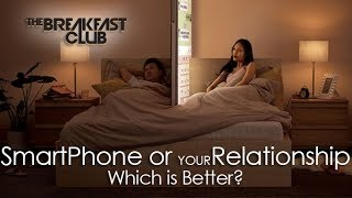 Would you choose your smartphone over your Man or Woman? | Breakfast Club Discussions
