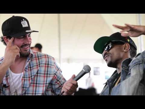 Big Sean Interview at Rock The Bells, NYC - 2010