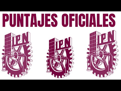 PUNTAJES OFICIALES IPN 2018