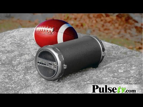 Bluetooth Indoor/Outdoor Wireless Speaker w/Subwoofer