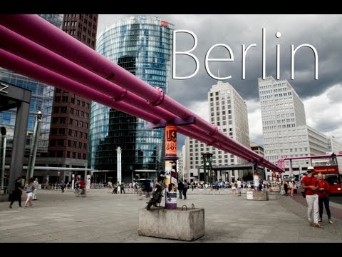Berlin in Germany travel: tourism of German capital Berlin a