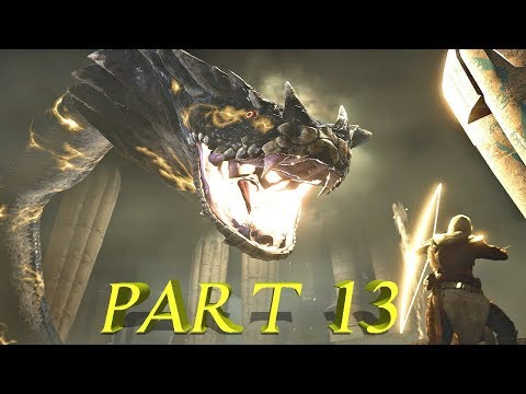 IT'S A GIANT SNAKE!!! | Assassins Creed Origins Gameplay Walkthrough Part 13