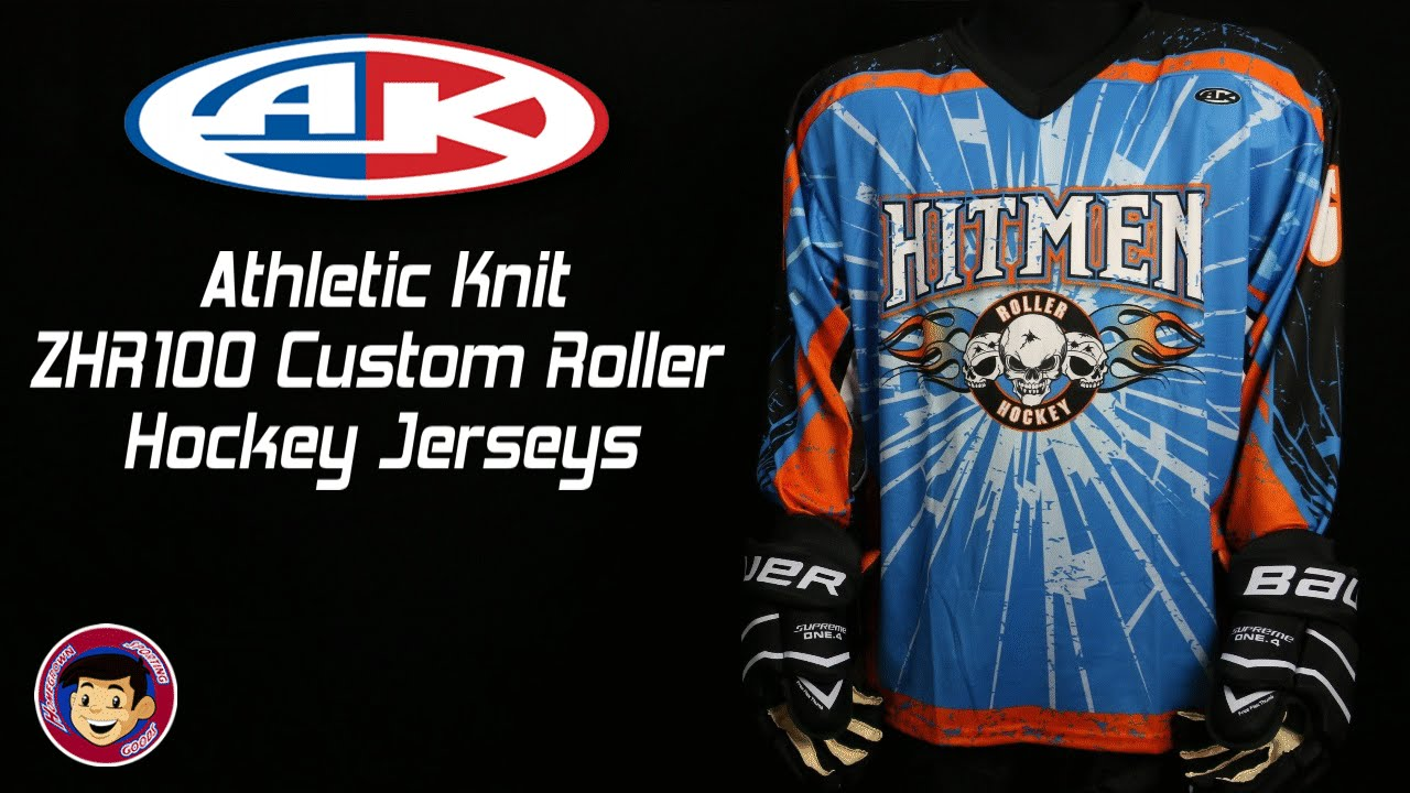 Athletic Knit Hockey Jerseys : Athletic Knit ZHR100 Custom Sublimated Roller Hockey Jerseys - Homegrown Spor...